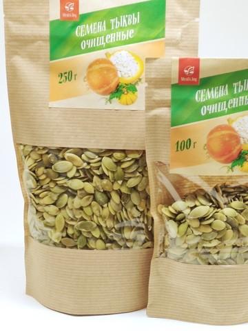 Семена тыквы очищенные, 250 г