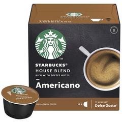 "Кофе ""Starbucks"" капсулы House Blend Americano Dolce Gusto 12шт"