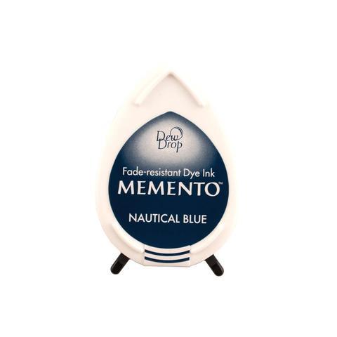 Штемпельная подушечка mini - MEMENTO - Nautical Blue