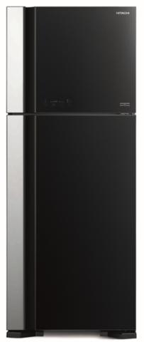 Холодильник с верхней морозильной камерой Hitachi R-VG 542 PU7 GBK