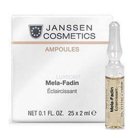 Janssen Мela-Fadin (skin lightening) 3 х 2 ml
