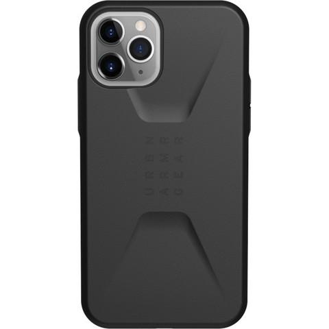 Чехол Uag Civilian для iPhone 11 Pro MAX черный (Black)