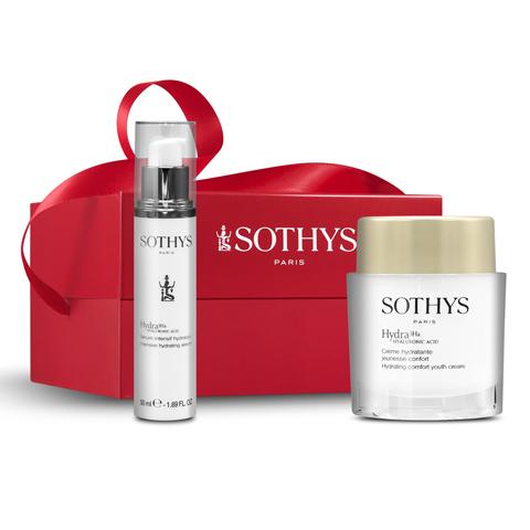 SOTHYS Рождественская коллекция: Набор Hydra Comfort в коробке (Comfort Hydra Youth Cream + Hydrating Serum)
