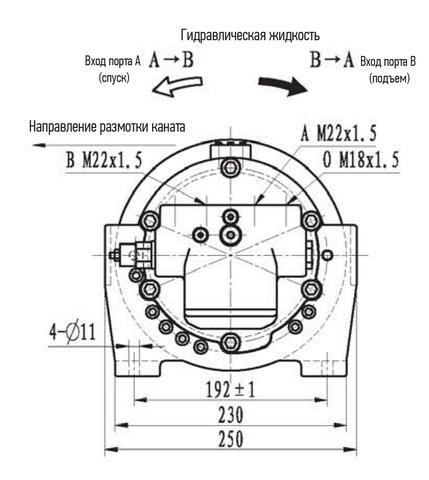 Эвакуационная лебедка IYJ11-5-55-6-ZPN