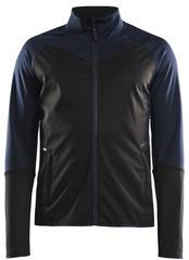 Тёплая лыжная куртка Craft Glide XC 2020 black-blue мужская