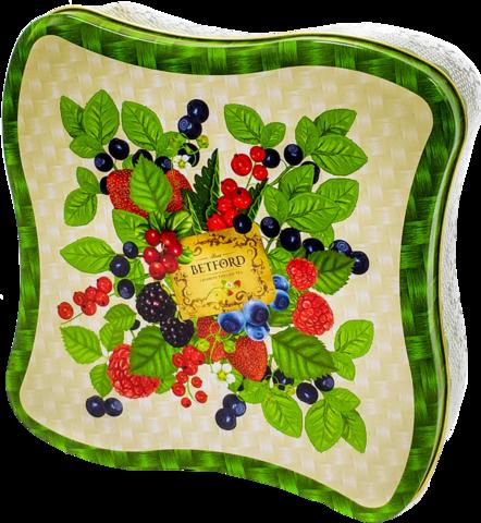 Чай черный Betford Лесные ягоды подарочный набор, 100 г