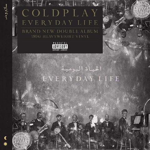 Виниловая пластинка. Coldplay – Everyday Life