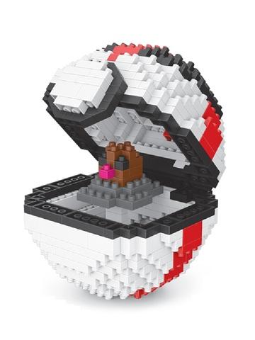 Конструктор Wisehawk & LNO Покемон бол Диглетт 446 деталей NO. 308 Diglett Pokemon ball Series