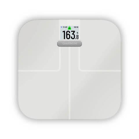 Garmin Index S2 — умные весы, белые