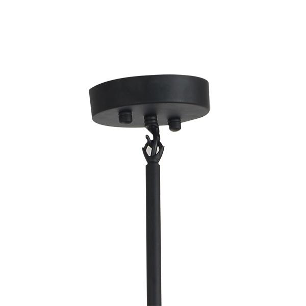 Потолочный светильник копия AGNES by Roll & Hill (10 плафонов, черный)