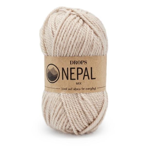Пряжа Drops Nepal 0206 светлый беж