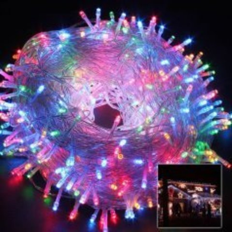 Новогодняя гирлянда led для украшение елок