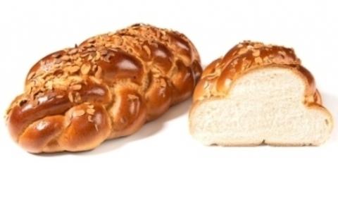 Плетенка с миндалем  Каравай-СВ (хлеб и выпечка) 0,45кг
