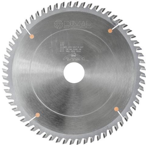 Пила Dimar 90202443 для алюминиевых профилей D160x20x2,8 Z48