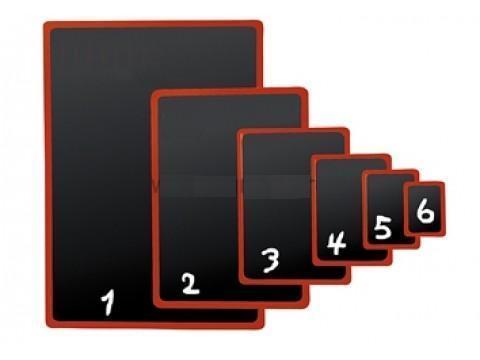 Черная табличка для нанесения надписей BB A4