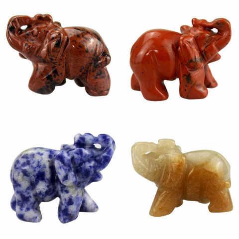 Слон каменный 4 см