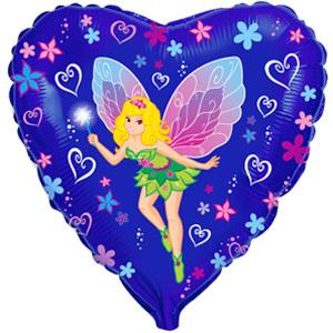 Фольгированный шар Фея-бабочка 18