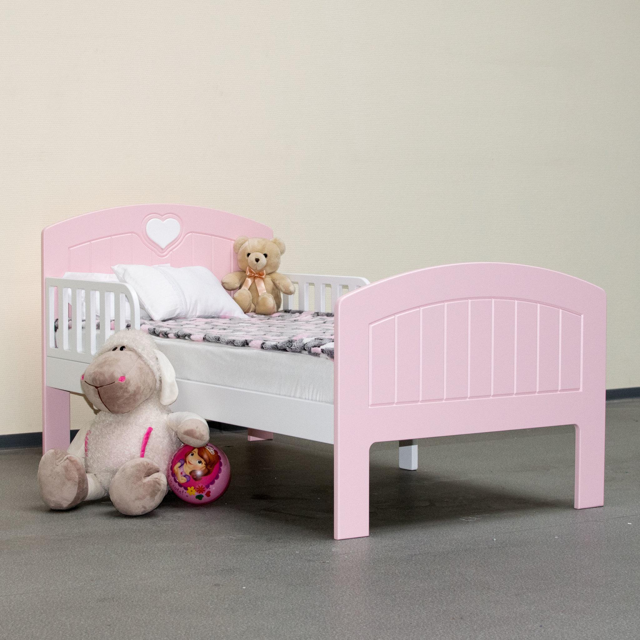 Кровать подростковая Мечта Розовая