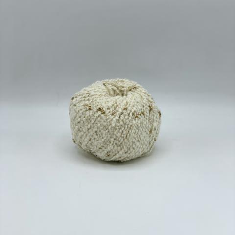 Biagioli Modesto (пр.Италия) 140 м / 50 гр. 95% кашемир 5% люрекс , цвет- Молочный с золотым люрексом , арт.10198
