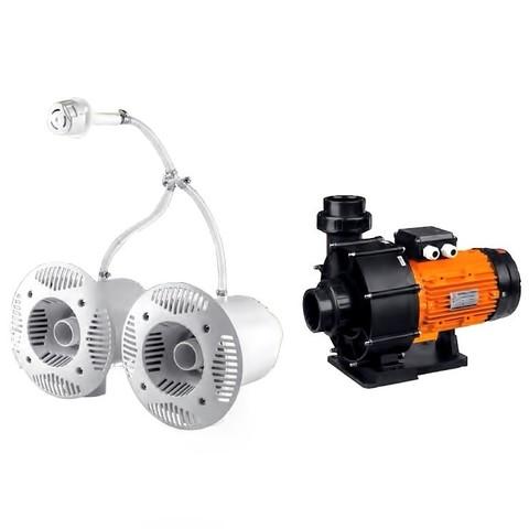 Противоток для бассейна Aquaviva AV-JET-5.5DT Kit (380 В, 68 м3/ч, 5.5 HP) / 20320