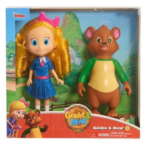 Набор кукол Голди и Мишка