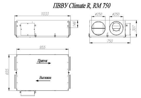 ПВВУ Climate RM750