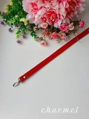 Ручка для сумок 44 см. Красный