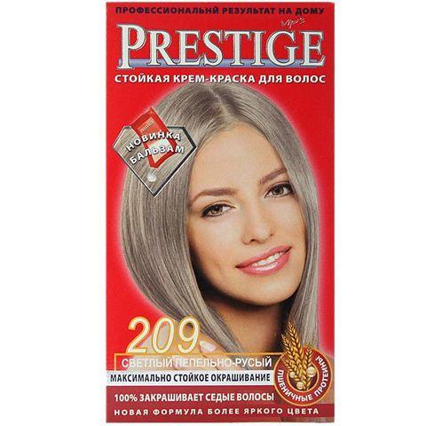 Краска для волос Prestige 209 - Светлый пепельно-русый, 50/50 мл.