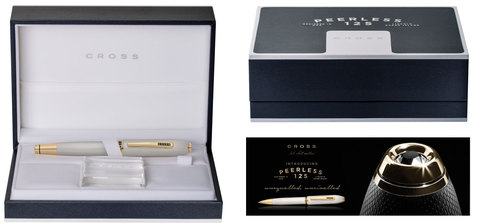 Cross Peerless 125 - Gold, шариковая ручка, M, BL123