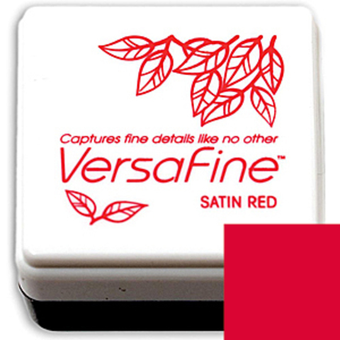 Штемпельная подушечка mini - SATIN RED
