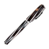Перьевая ручка Visconti Divina Eleg Over коричневый 925 перо перо палладий 23 кт (VS-263-71M)