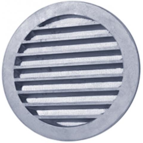 Алюминиевая наружная решетка Polar Bear CG 160 для круглых каналов