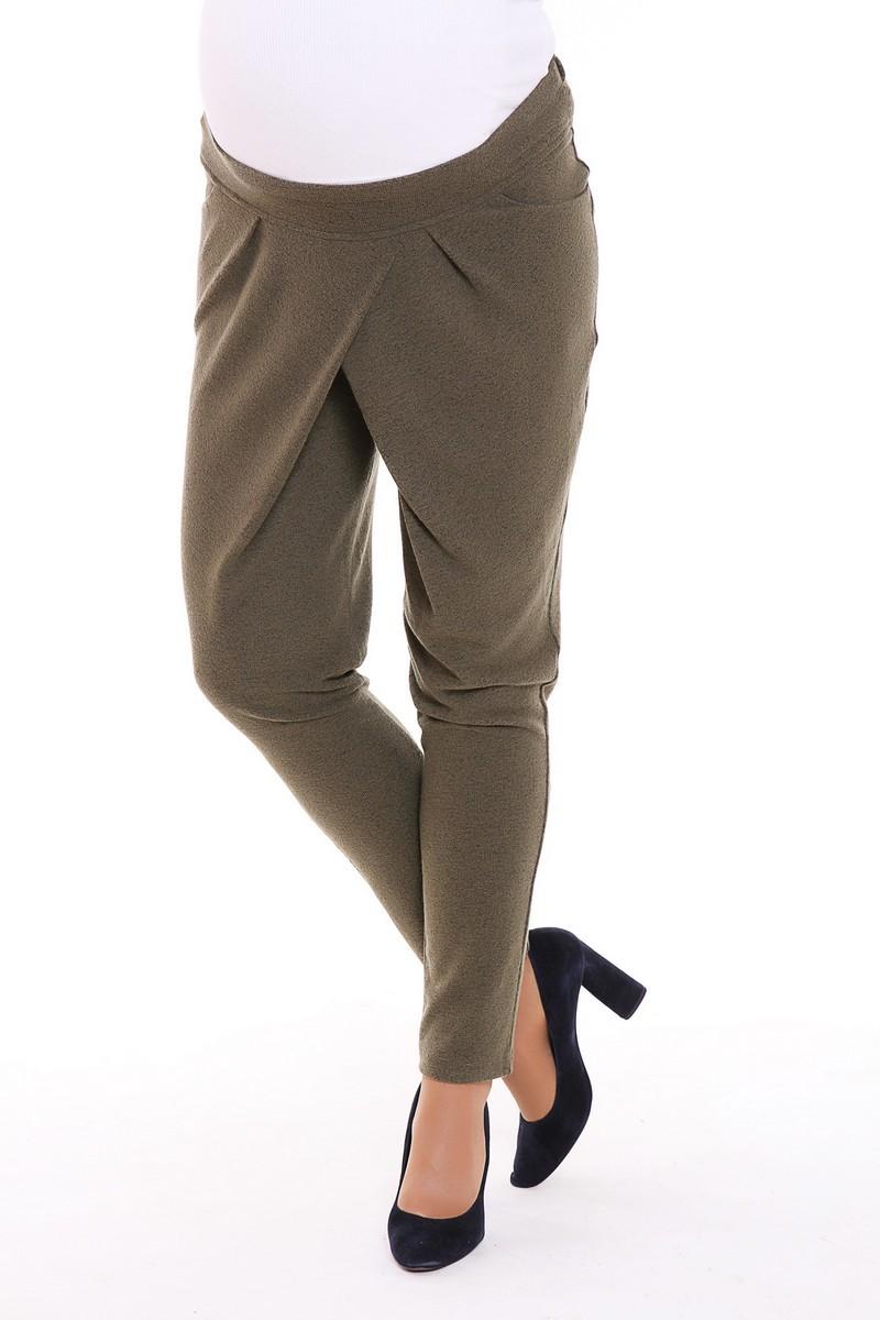 Спортивные брюки для беременных 08261 зеленый
