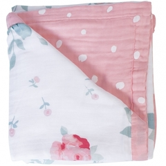 Одеяло Bamboo Muslin Rosy and Dewdrops