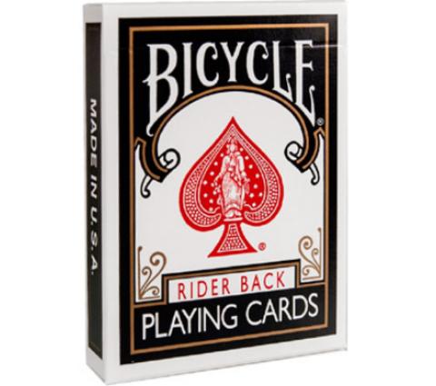 Карты Bicycle Rider back (черные)