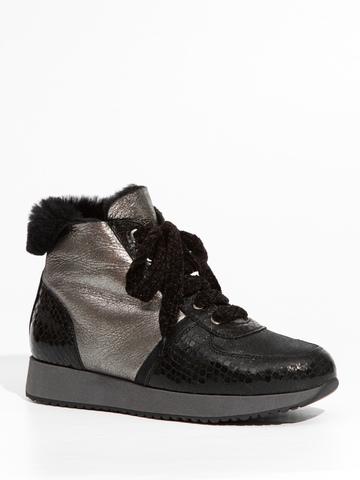 Замшевые ботинки Marzetti 7835 с мехом