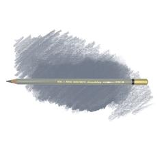 Карандаш художественный акварельный MONDELUZ, цвет 35 платиновый серый