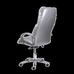 Педикюрное кресло Надир Люкс пневматика пятилучье хромированные подлокотники