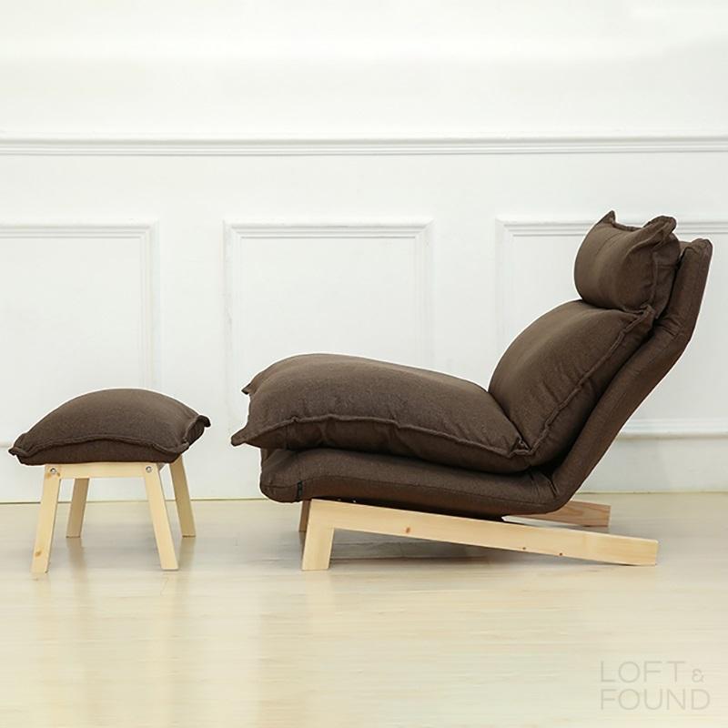 Кресло с оттоманкой Pikky 10304