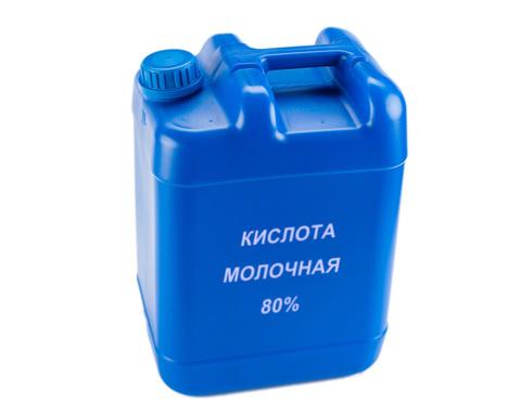 Кислота молочная 80% C₃H₆O₃