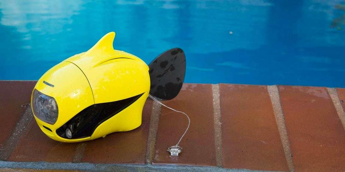 Подводный дрон RoboSea BIKI V1.0 желтый