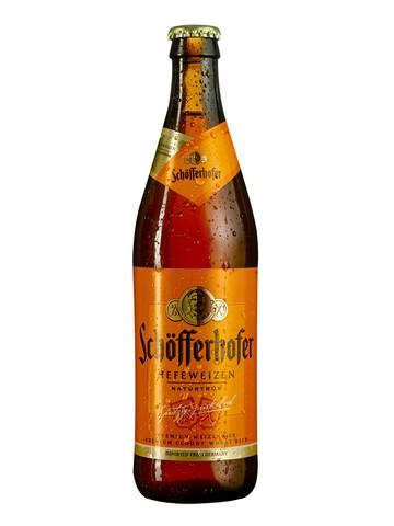 Schofferhofer / Шофферхофер (светлое нефильтрованное)