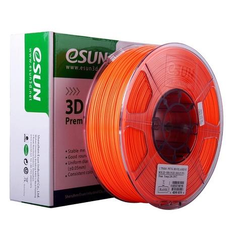 ESUN PETG 1.75 мм 1кг., яркооранжевый