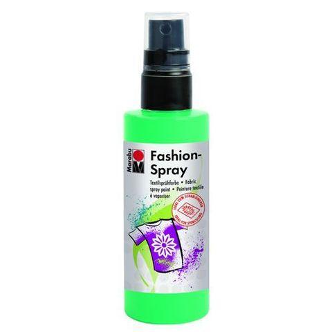 Краска-спрей для хлопка и льна Marabu-Fashion Spray 158 Зелёное яблоко