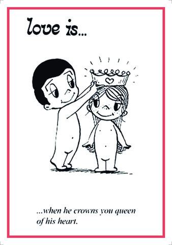 Açıqca\Открытки\Postcard Love is... 6