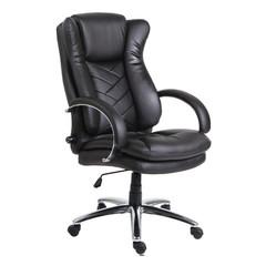 Кресло для руководителя Easy Chair 541 TL черное (кожа/металл)