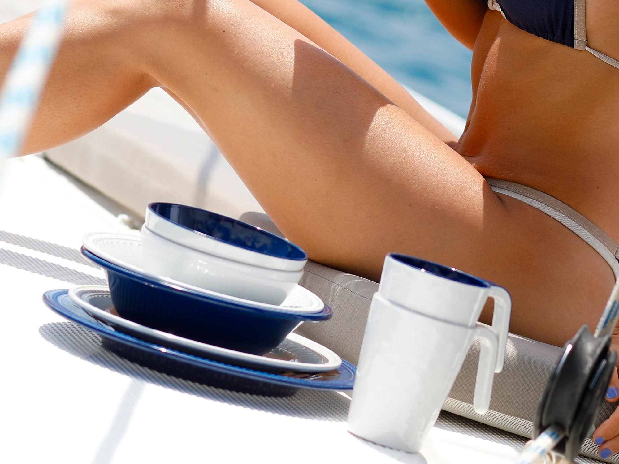 Melamine Mug, Summer collection, Blue colour