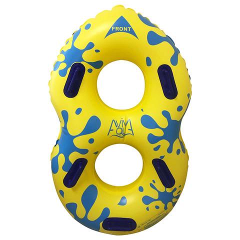 Плавательный круг Aquaviva AV42DY для аквапарков (165x107 см) / 7407