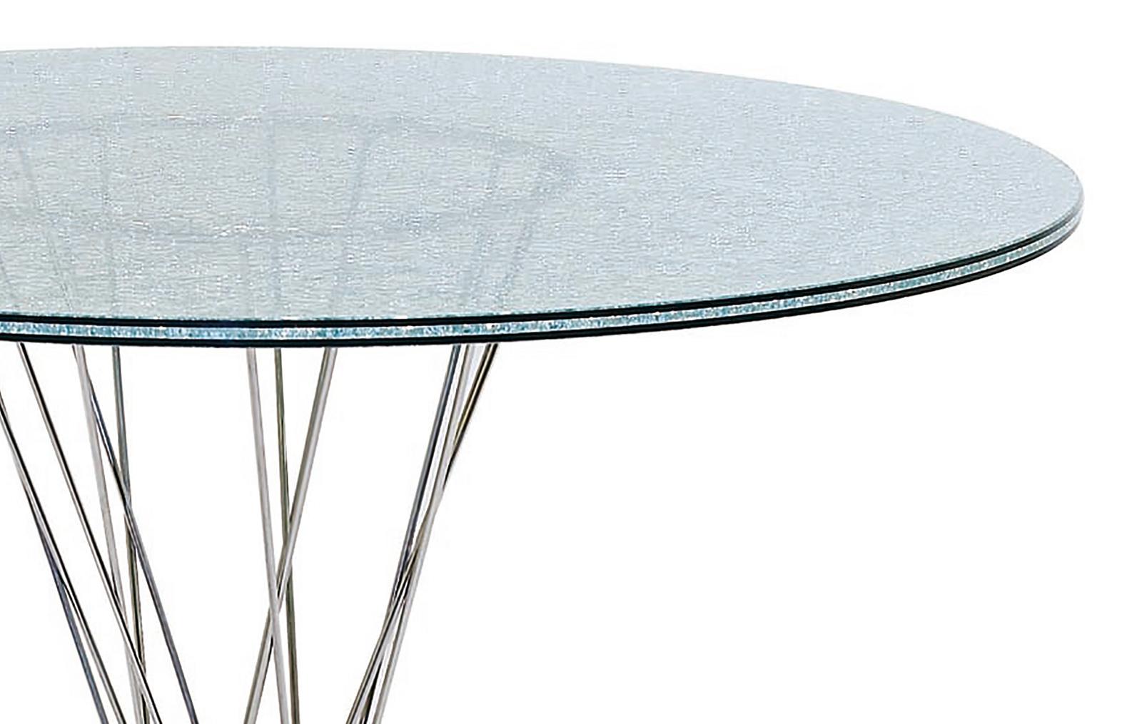 Стол журнальный ESF RT-413 (C) 70 с эффектом битого стекла