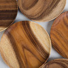 Тарелка деревянная, поднос, 18 см